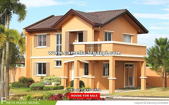 Camella Legazpi House and Lot for Sale in Legazpi City Philippines