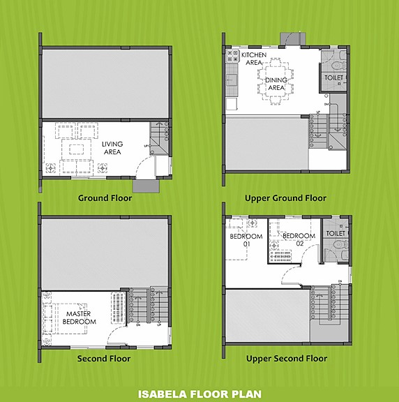 Isabela Floor Plan House and Lot in Legazpi