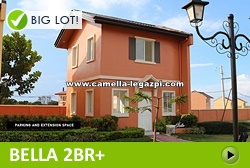 Bella House and Lot for Sale in Legazpi City Philippines